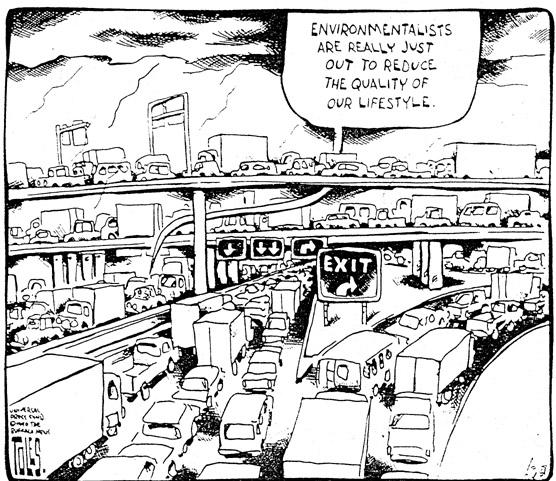 Bloody environmentalists!