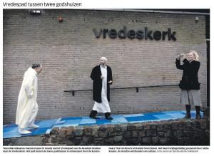 Vredespad tussen moskee en kerk