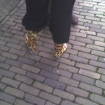 Kleurrijke laarzen