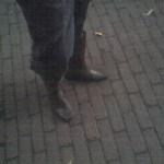 Strakke laarzen