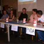Onderonsje bij SGP debat