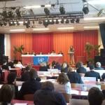 Kristiña spreekt namens Iran de General Assembly toe